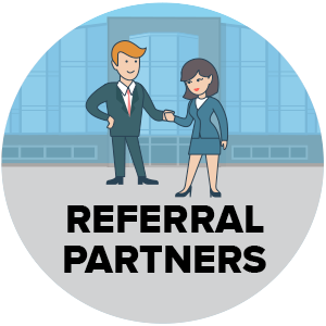 Referral Partners Graphic